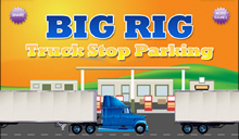 jeu Big Rig Truck Stop Parking