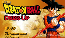 jeu Dragon ball dress up jeu d'habillages