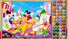 jeu Mickey and Friends Math