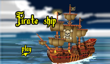 jeu Pirate ship le bateau pirate
