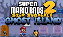 jeu Star Scramble Ghost Island jeu Super Mario