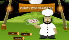 jeu Turkey Rice Casserole